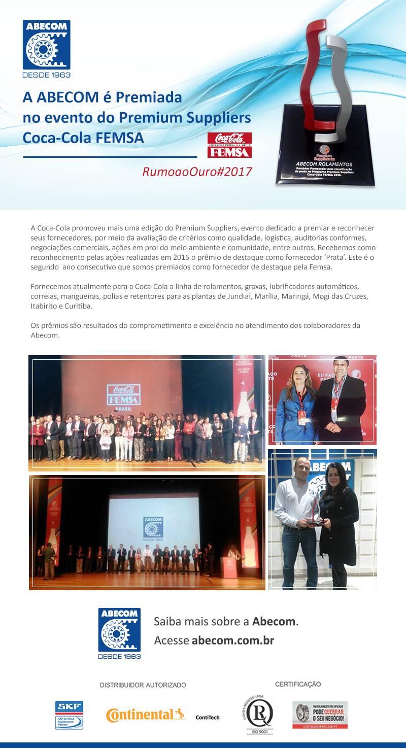 Abecom prêmio FEMSA 2016