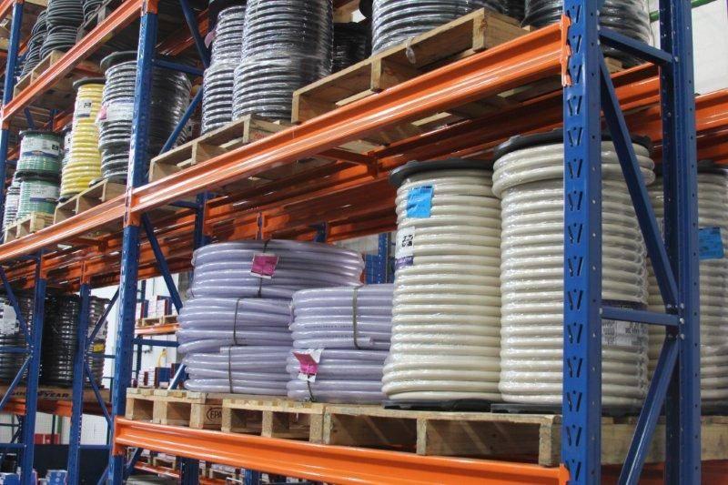 Centro de Distribuição Abecom - Mangueiras