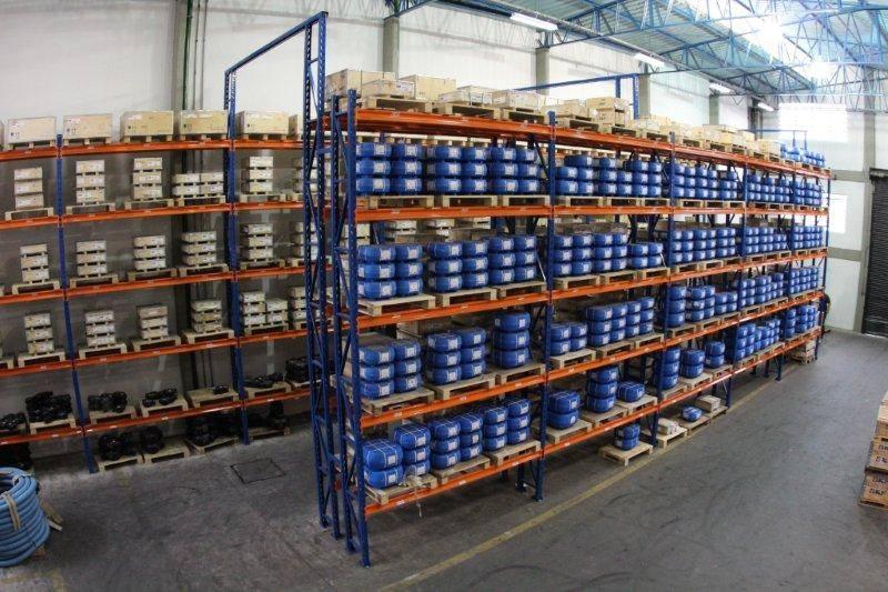 Centro de Distribuição Abecom - Visão de Cima