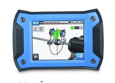 medidor skf ferramenta de alinhamento de eixo a laser