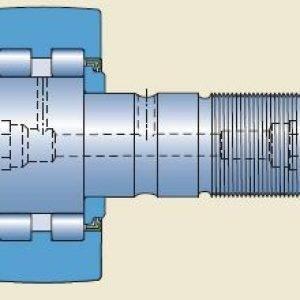 Os rolos de leva com eixo do modelo PWKR