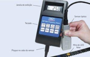 ferramenta para medir tensionamento da correia por frequencia