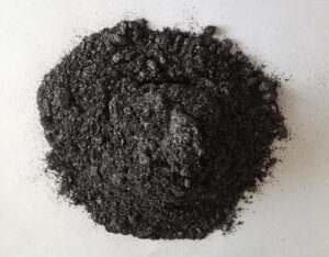 lubrificação com Dissulfeto de molibdênio, um lubrificante sólido em pó