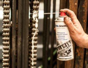 lubrificação de corrente industrial