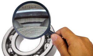 análise de falha em rolamento na manutenção preditiva - Inspeção visual em rolamento