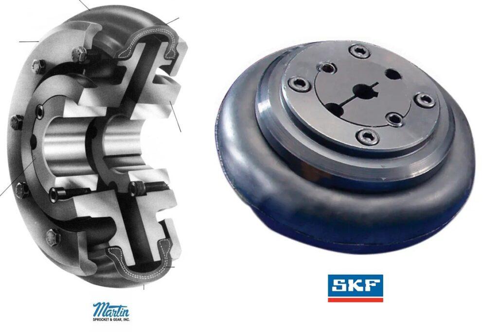 acoplamento flexível tipo pneu skf