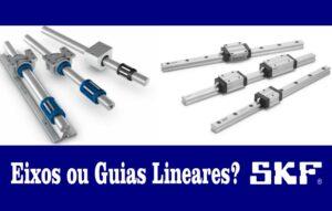 eixos lineares ou guias lineares