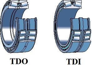 Rolamento de rolos cônicos de duas carreiras