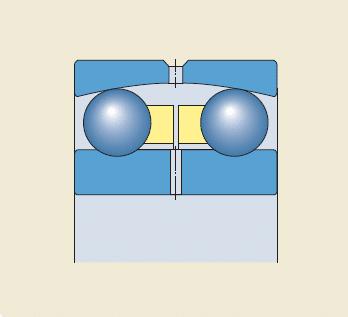Rolamentos autocompensadores de esferas