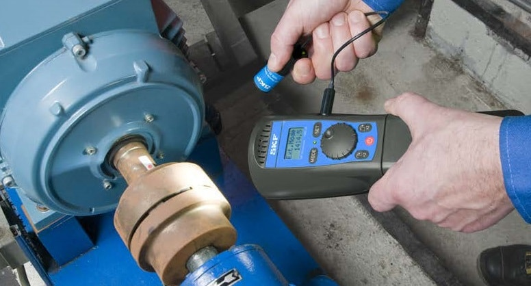 medição de velocidade de acoplamento com Estroboscopios-SKF-TKRS20-01