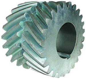rodas dentadas helicoidais duplas