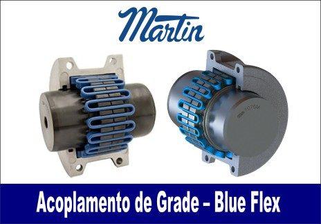 acoplamento de grade blueflex martin
