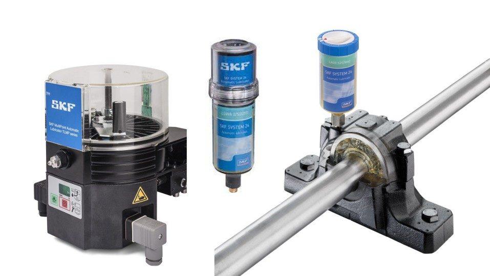 lubrificadores automáticos de graxa SKF