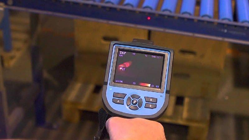 termografia em rolamentos